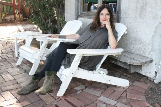 Lita Albuquerque is an environmental artist, painter, and sculptor who lives in Malibu.