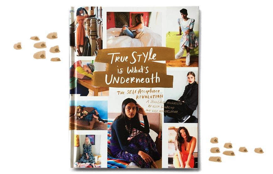 Cover of the 'True Style Is What's Underneath' book