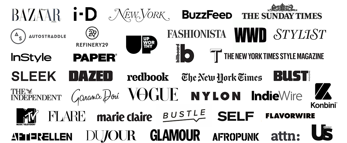 Logos of Press Publications About Stylelikeu